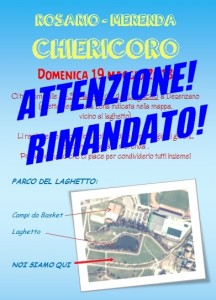 Rosario Chiericoro RIMANDATO