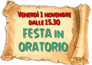 Festa 1nov  oratorio