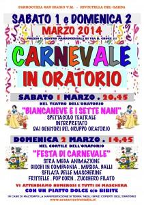 Carnevale Locandina 2014