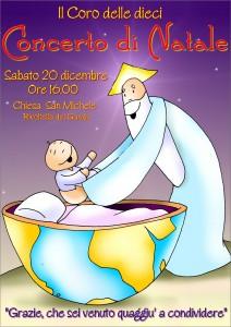 Coro 10 concerto Natale 2014