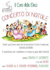 Coro dieci concerto natale 16