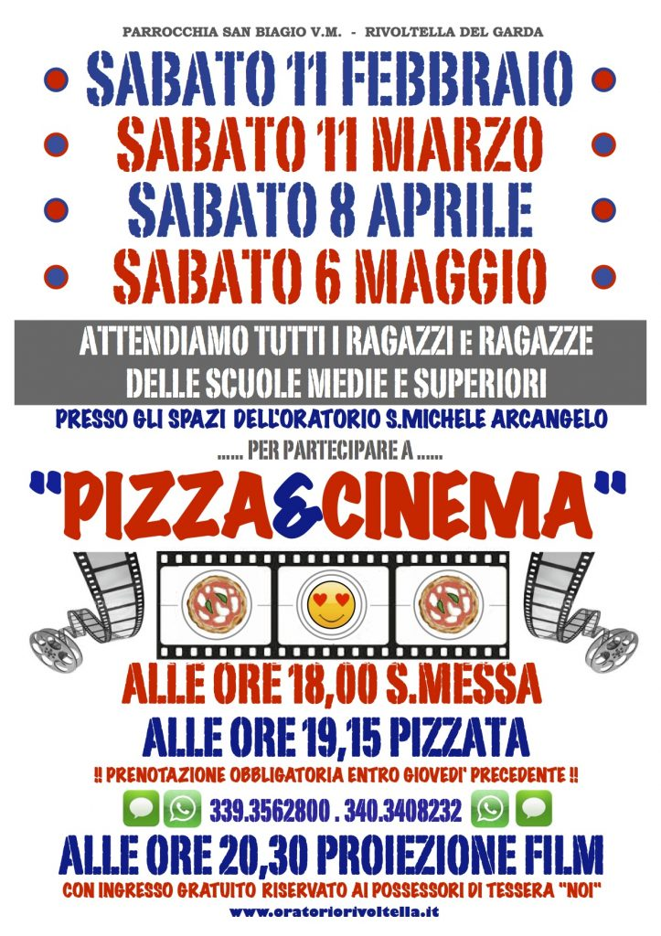 PIZZA E CINEMA 2017