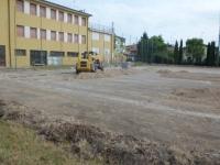 20130705 inizio lavori campo calcio oratorio Rivoltella 01.jpg
